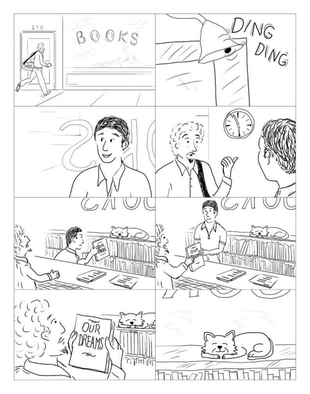 little dreamers, page 2