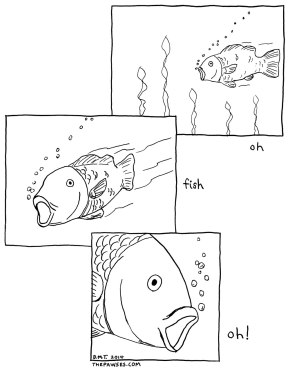 Oh, Fish. Oh!