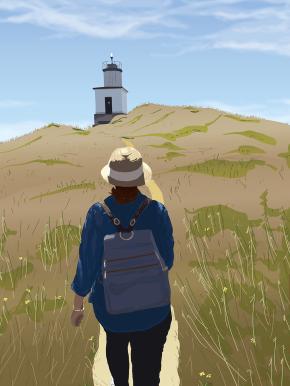 The Lighthouse Path