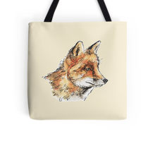 Fox casual design decorating a Redbubble tote bag