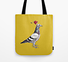 Society6 Unflappable tote bag