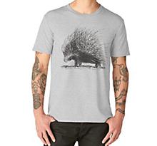 Porcupine Redbubble premium t-shirt