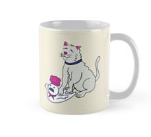 Making Biscuits Redbubble coffee mug