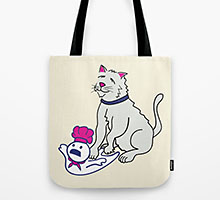 Making Biscuits Society6 tote bag