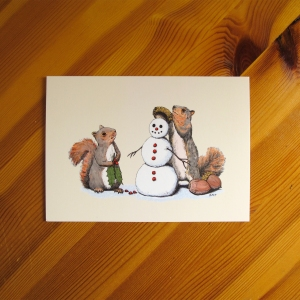 5x7 Holiday Trimmings natural beige art print