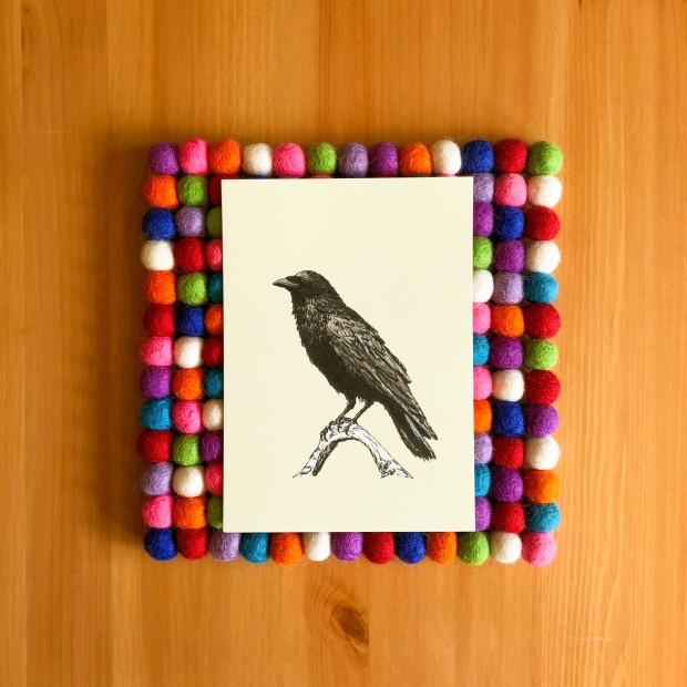 Raven M 5x7 print
