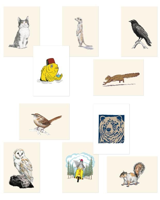 Ten New Art Prints